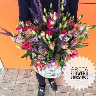 Коробка с цветами Феникс