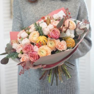 Сборный букет цветов - Воплощение