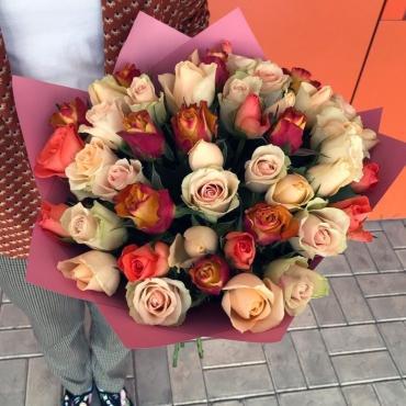 51 роза Кения (мини розы)
