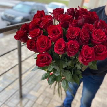 31 Роза Эквадор (100 см)