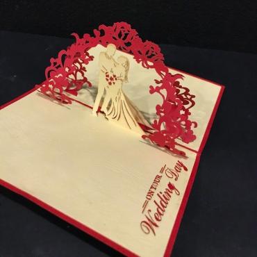 Открытка «На Свадьбу» ручная работа