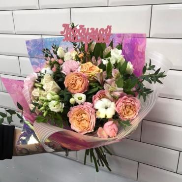 Дизайнерский букет «Лунный цветок»