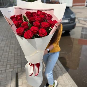 Розы метровые (100 см) 25 штук