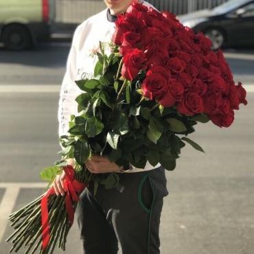 Метровые розы (роза 1 метр)