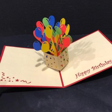 Открытка ручной работы «День Рождение»