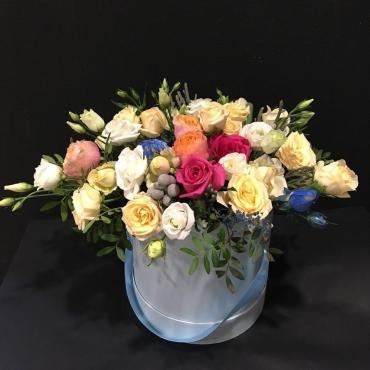 Цветы в шляпной коробке Дуэт